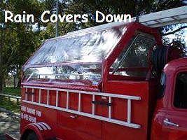 Fire engine - Rain Covers